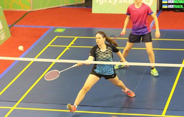 Młodzi badmintoniści nabierają doświadczenia w II LO
