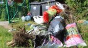 Działki to nie wysypisko śmieci