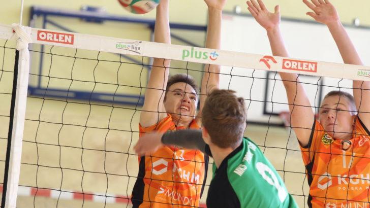 Siatkarscy kadeci w ogólnopolskim półfinale