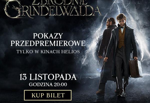 """""""Fantastyczne Zwierzęta: Zbrodnie Grindelwalda"""" przedpremierowo"""