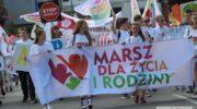 Biały marsz przeszedł ulicami Lubina