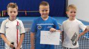 Młody tenisistka w Turnieju Masters