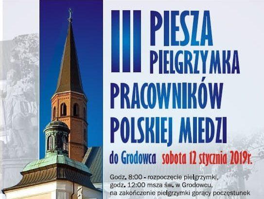 Pracownicy Polskiej Miedzi pójdą do Grodowca