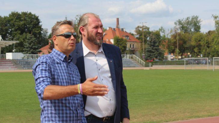Gwiazdy polskiej lekkoatletyki z wizytą na stadionie RCS
