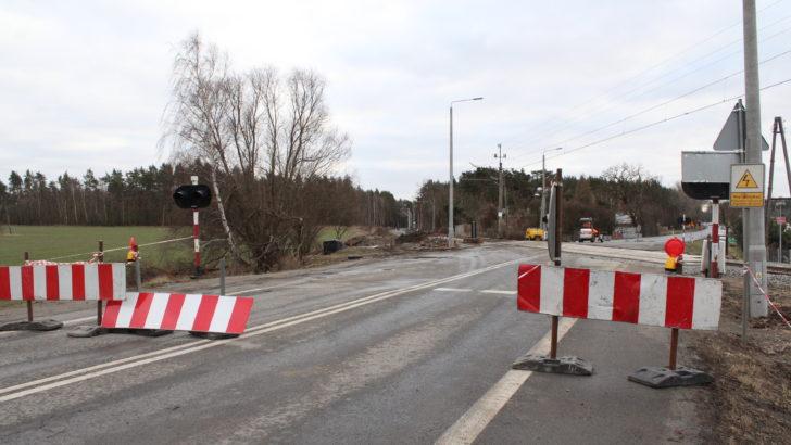 Przejazd na Legnickiej zamknięty do końca lutego