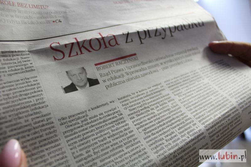 """Prezydent Raczyński dla """"Rzeczpospolitej"""""""