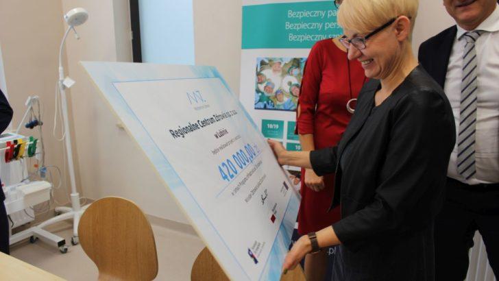 Sprzęt do ratowania życia najmłodszych dla lubińskiego SOR-u