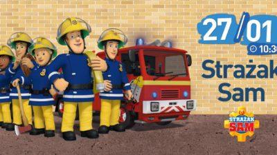 Filmowy poranek ze strażakiem Samem