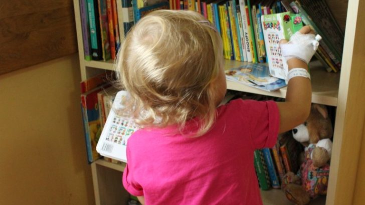 Książki w prezencie dla małych pacjentów