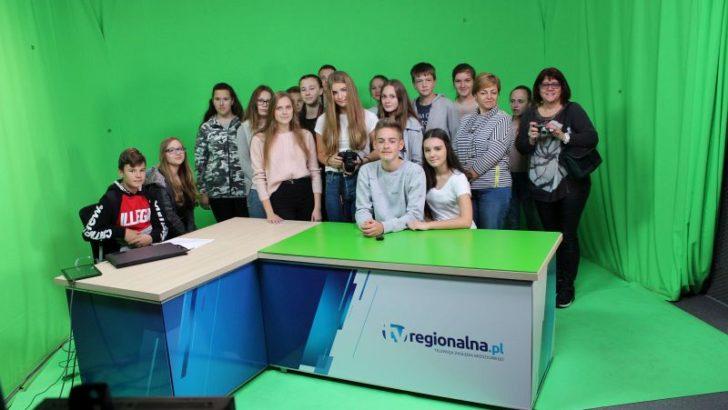 Młodzież z Mirska i Ukrainy w TV Regionalna.pl