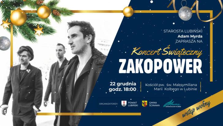 Świąteczny koncert już w sobotę. Tym razem z Zakopower