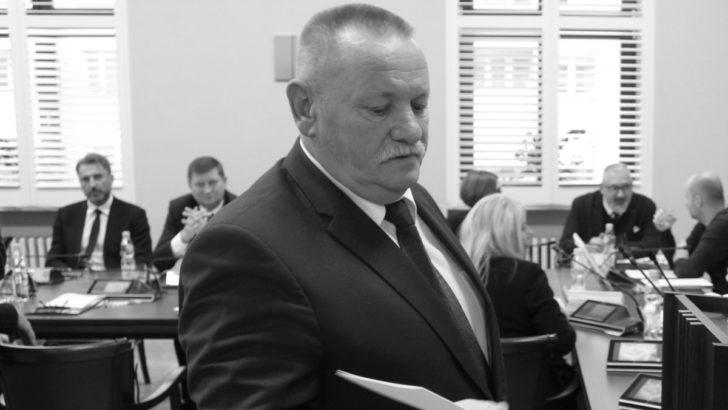 Nie żyje lubiński radny miejski Zbigniew Czerwonka
