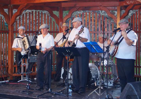 Kolejny koncert w parkowej altanie