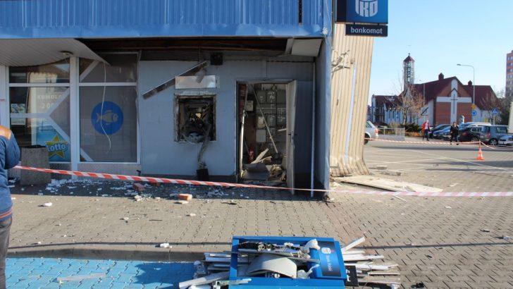 Kto wysadził bankomat? Mamy nagrany film
