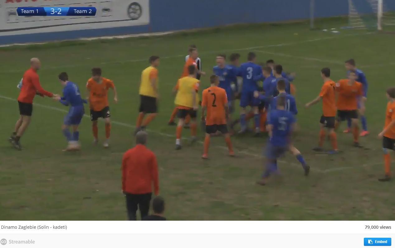 Chorwaccy piłkarze przepraszają za sprowokowanie bójki