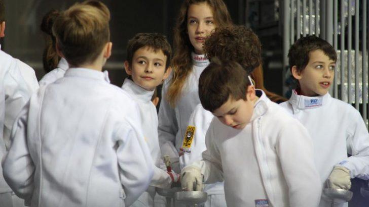 Młodzi szpadziści na Challenge Wratislavia