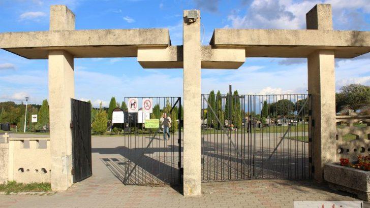 Zmiany na lubińskim cmentarzu