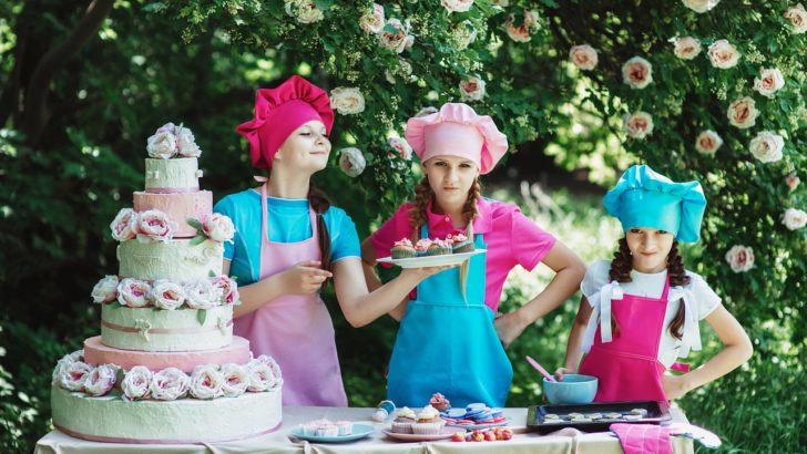 Dzieci przygotują kulinarną ucztę