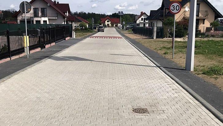 Nowe drogi w Miroszowicach