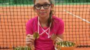 Srebrny medal tenisistki z Lubina