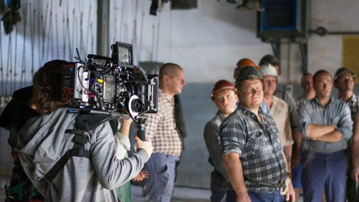 Kręcili film w kopalni