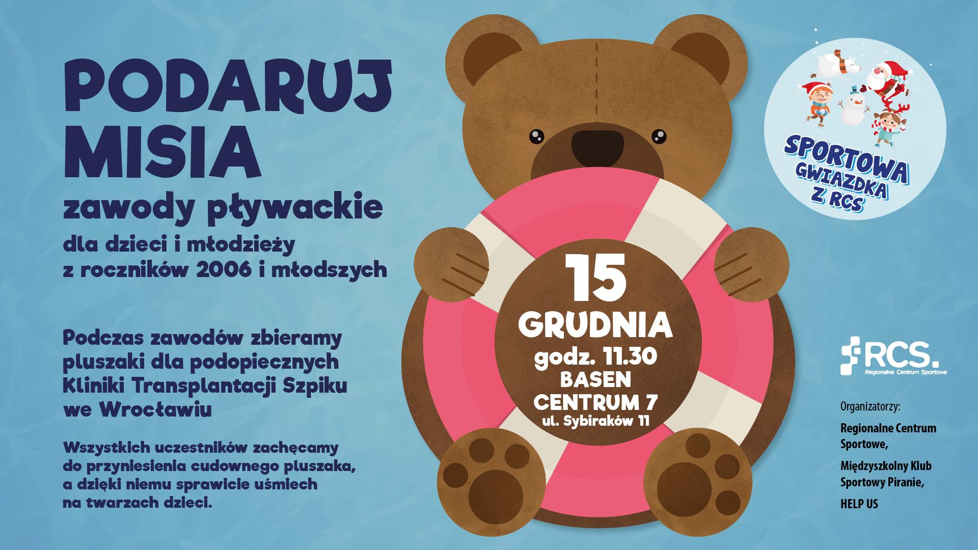 Sportowa Gwiazdka - Gwiazdkowe charytatywne zawody pływackie