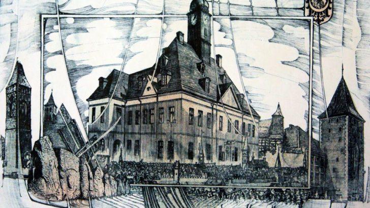 Grafiki Hlavatego z lubińskim akcentem