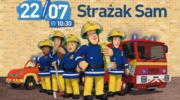 Poranek ze strażakiem Samem i prawdziwymi strażakami