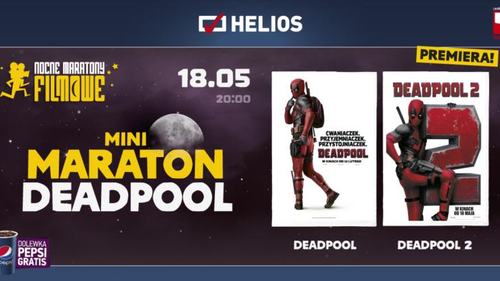 Maraton filmowy z Deadpoolem