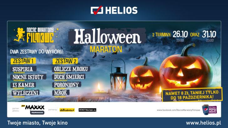 Maratony filmowe na Halloween