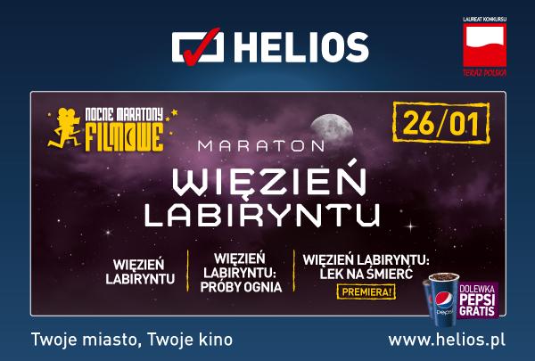 Maraton filmowy w Heliosie