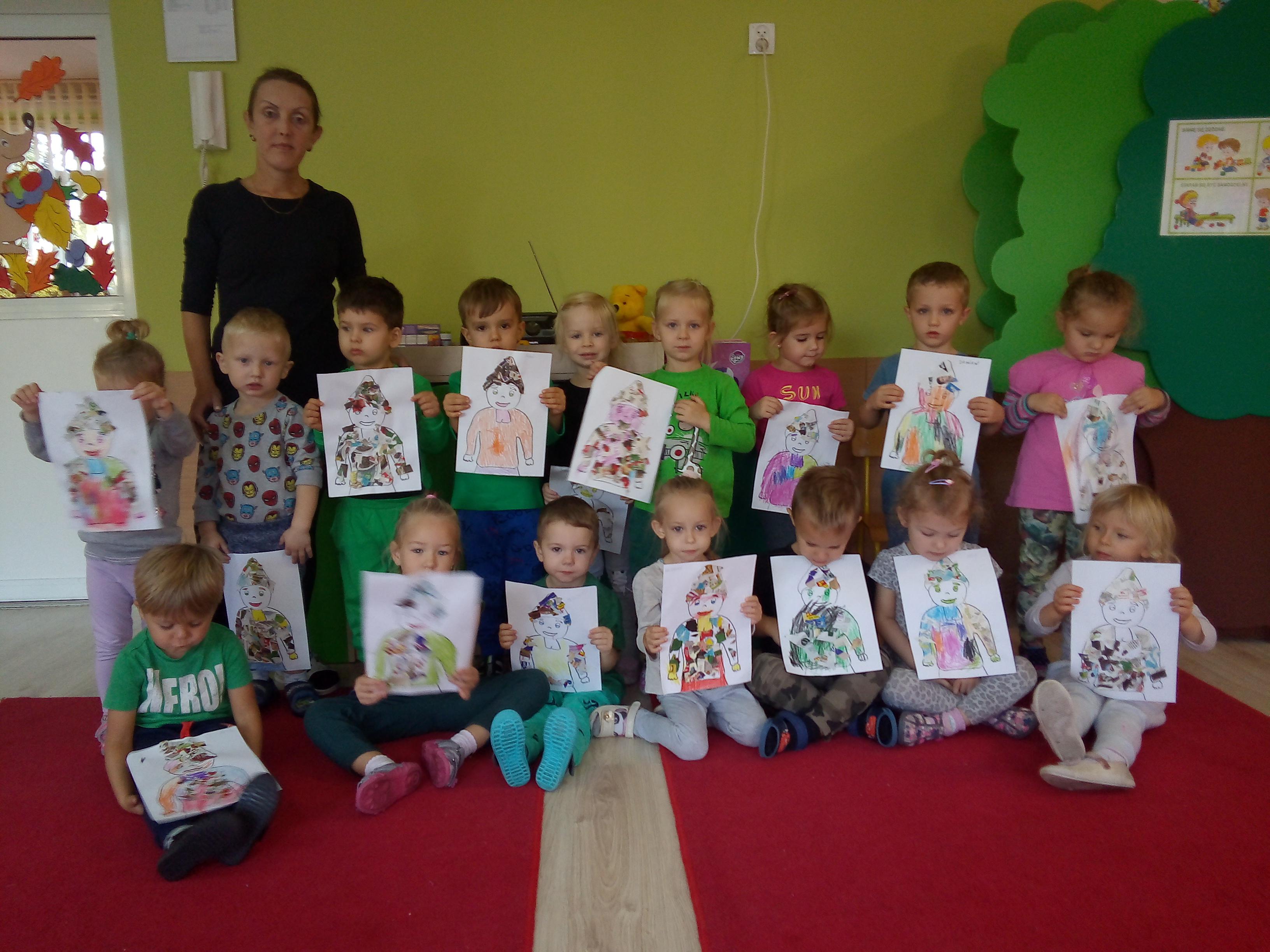 Julek czytał przedszkolakom