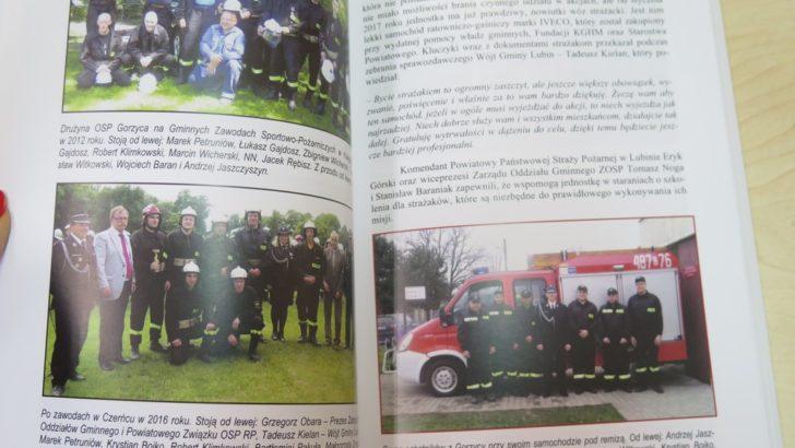 Powstała książka o gminnych strażakach