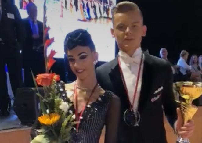 Lubińscy tancerze na czeskim podium