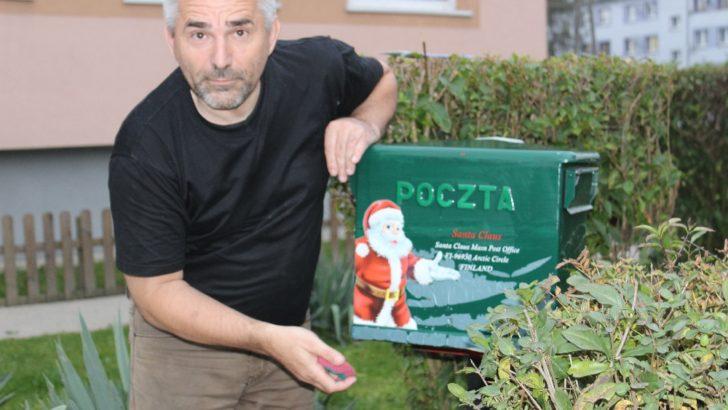 Przekaże listy świętemu Mikołajowi