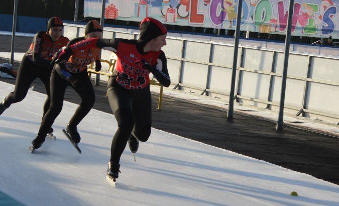 Zawody łyżwiarskie dla najmłodszych