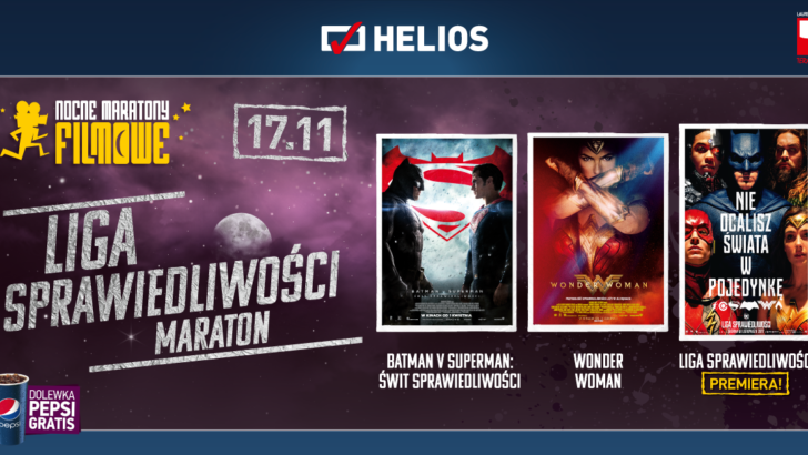 Maraton filmowy z superbohaterami