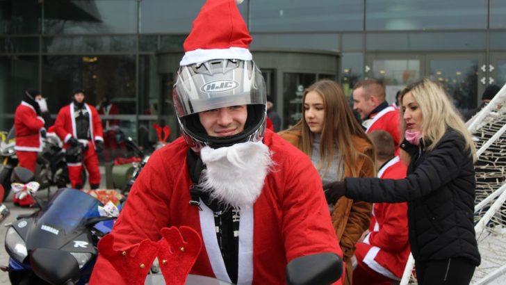 Mikołaje na motocyklach znowu w Lubinie