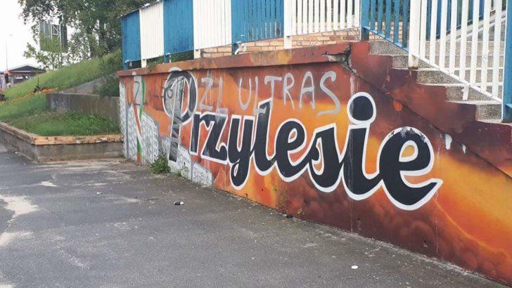 Zniszczyli mural Zagłębia