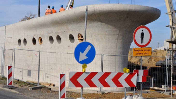 Parking coraz bardziej przypomina statek