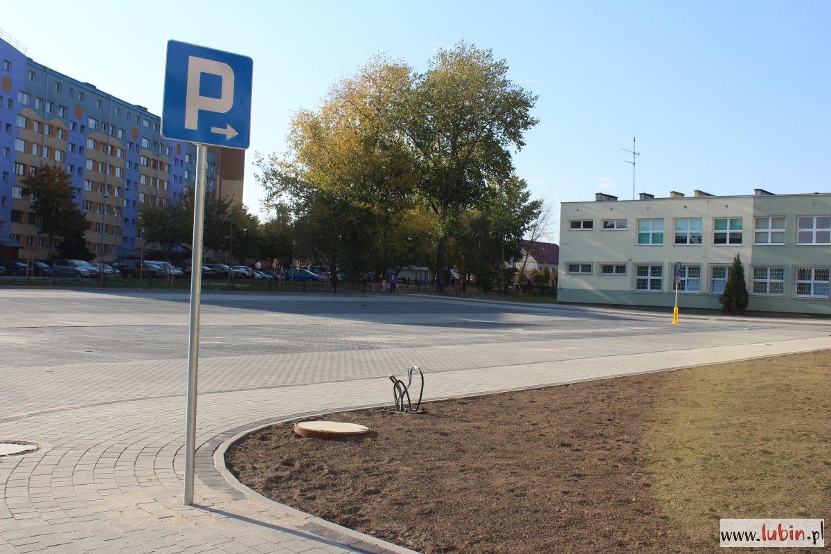 Gotowy jest kolejny parking dla mieszkańców