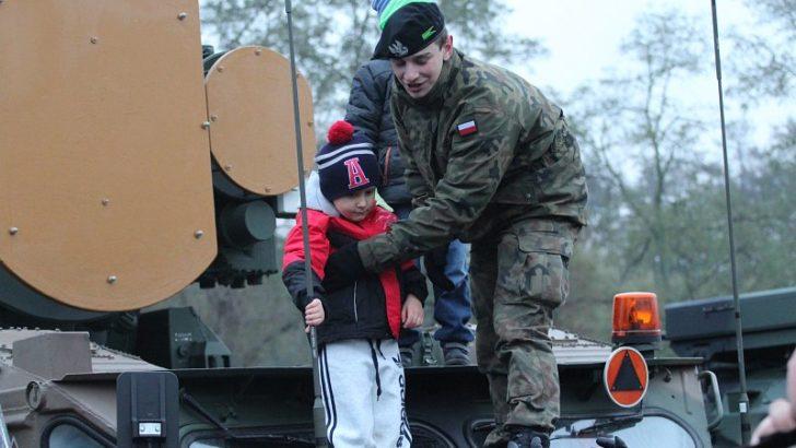 Żołnierze znowu w Lubinie. Tym razem pod halą