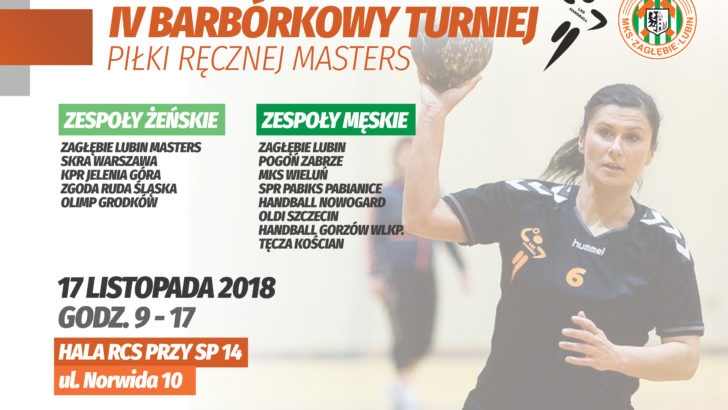 IV Barbórkowy Turniej Piłki Ręcznej Masters