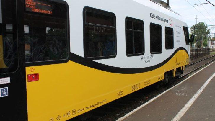 Pociągiem z Lubina do Wrocławia już w grudniu
