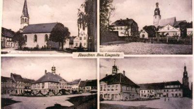 Pocztówki sprzed lat – okolice Lubina