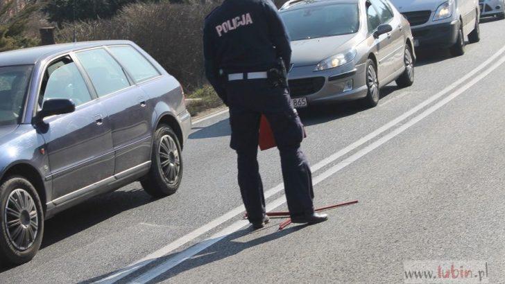 Noga z gazu, policjanci na drodze