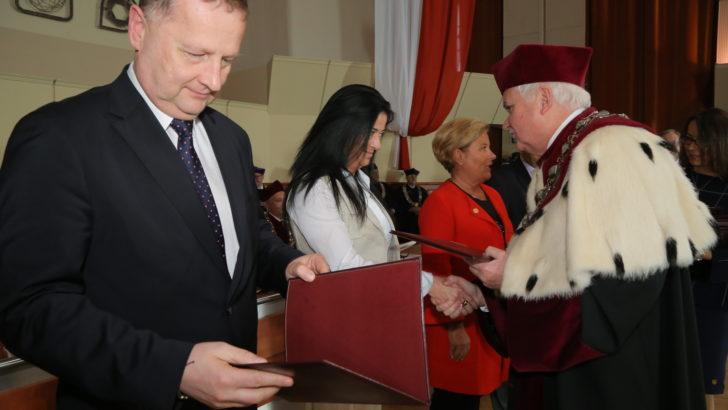 Prezydent Lubina wśród działaczy politechniki