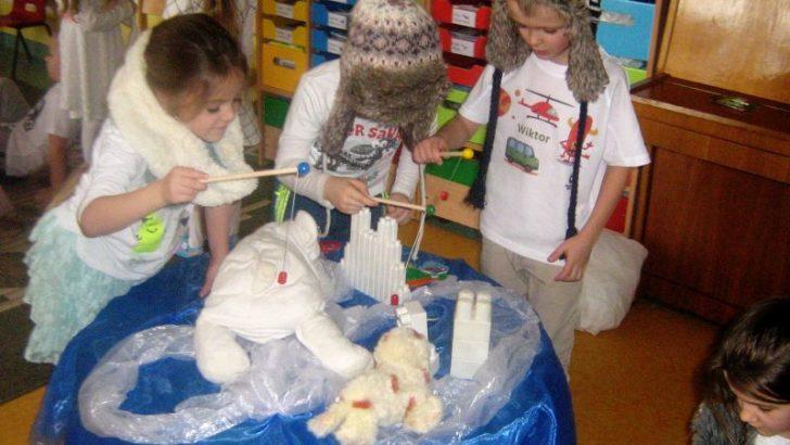 Przedszkolaki poznawały Grenlandię