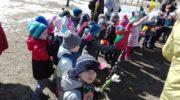 Przedszkolaki pożegnały zimę