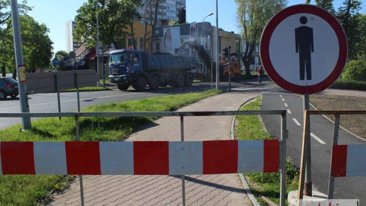 Droga w centrum zamknięta! Rozpoczął się remont